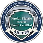 American Board of Facial Plastic and Reconstructive Surgery Facial Plastic Surgeon Board Certified ABFPRS