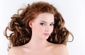 red headed woman with beautiful hair