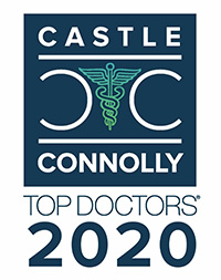 Castle Connolly Top Doctors DC 2020 Denjamin C. Stong, MD