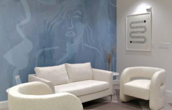 Waiting area at Kalos Hair Transplant, LLC in Atlanta GA