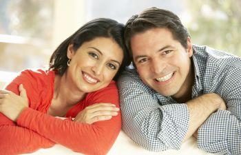 Smiling Couple With Nice Hair Atlanta, GA